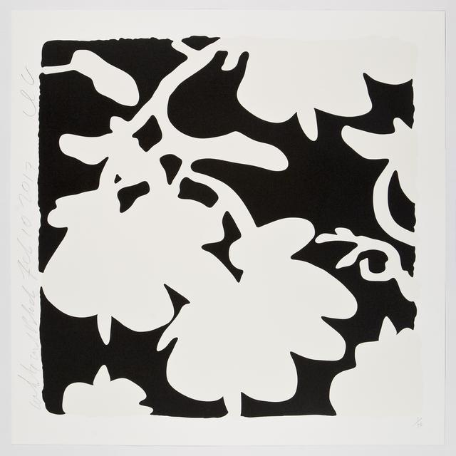 Donald Sultan, 'White and Black, Feb 10, 2017', 2017, Meyerovich Gallery