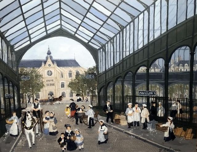 , 'Le carreau des Halles,' , Hugo Galerie