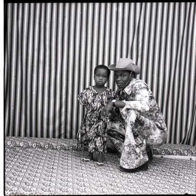 Malick Sidibé, 'Avec mon Enfant', 1977, Malin Gallery