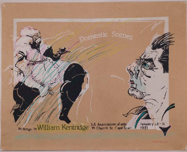 , 'Domestic Scenes,' 1980, Sylvan Cole Gallery
