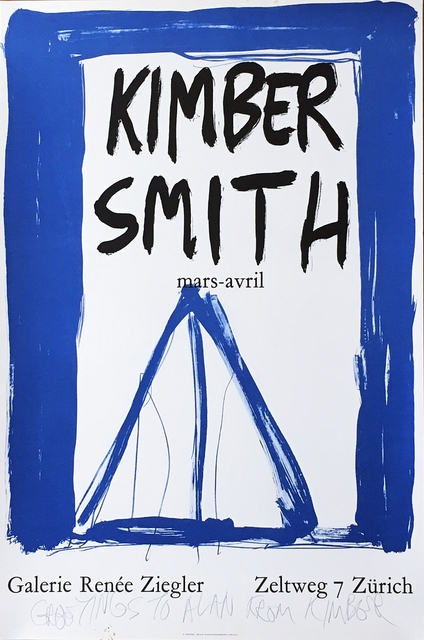 Kimber Smith, 'Kimber Smith (Hand signed and inscribed)', ca. 1974, Alpha 137 Gallery