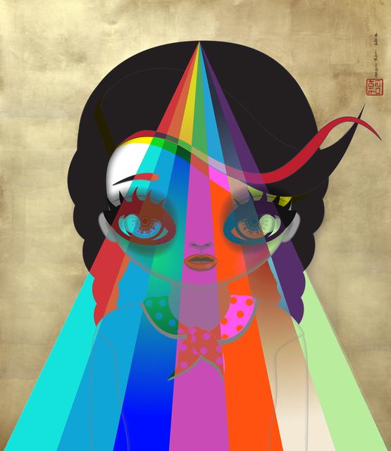 , 'Rainbow Walks for the Destiny Solar Mix,' 2016, Shine Artists | Pontone Gallery