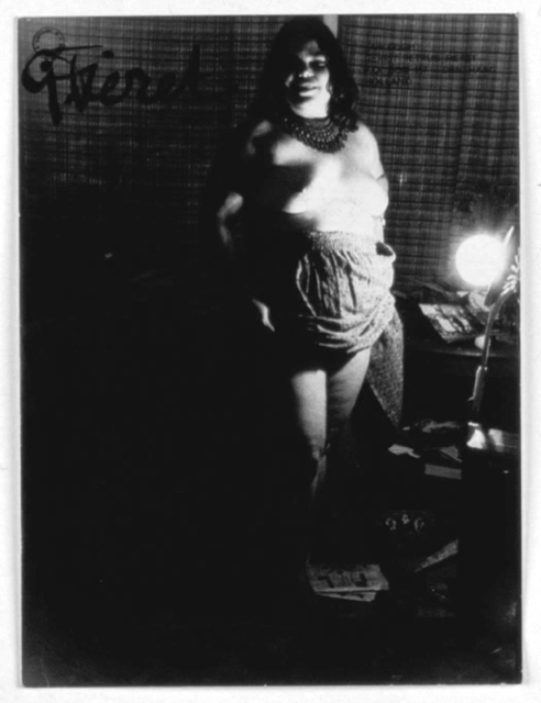 , 'Untitled (smiling nude holding up skirt),' 1960-1970, Galerie Julian Sander