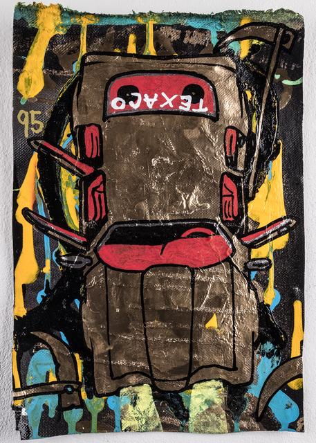 , 'Montara Oil,' 2018, heliumcowboy