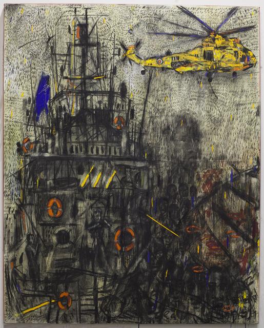, 'Ultramarine,' 2017, Albareh Contemporary