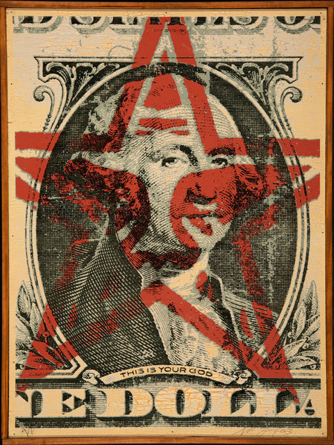 Shepard Fairey, 'This is your God Dollar', 2003, Heritage Auctions
