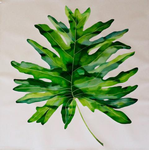 Idoline Duke, 'Big Tropical Leaf I', 2016, ARC Fine Art LLC