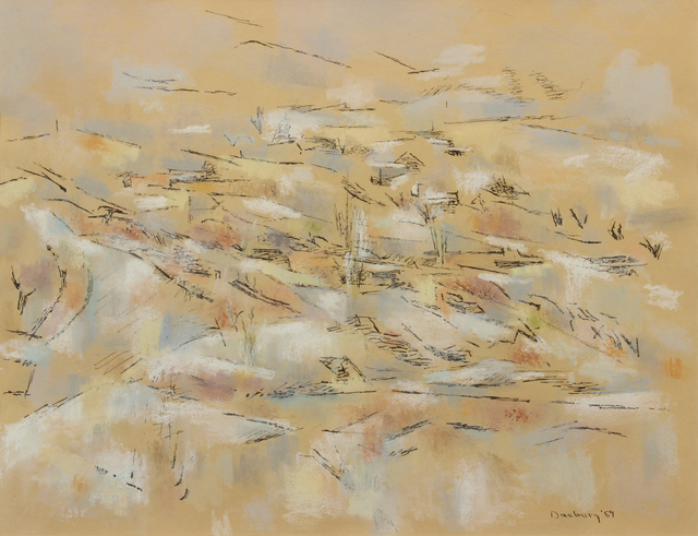 Andrew Dasburg, 'April Snow', 1967, Addison Rowe Gallery