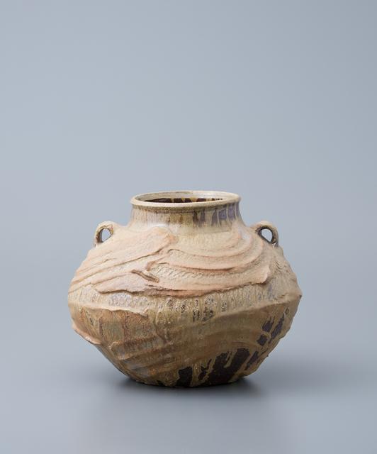 , 'Vase, yohen natural ash glaze,' , Pucker Gallery