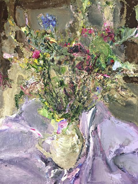 , 'Gartenblumen I (Flowers),' 2018, DIE GALERIE