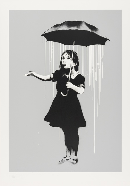 Banksy, 'Nola (White Rain)', 2008, Forum Auctions