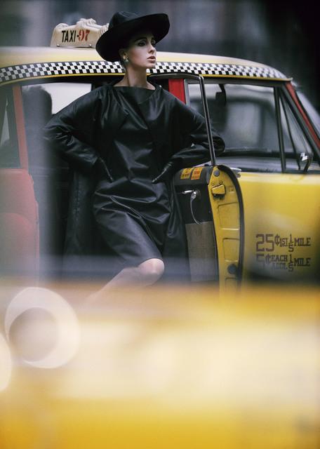 , 'Antonia, yellow cab, New York,' 1962, Galerie de la Béraudière