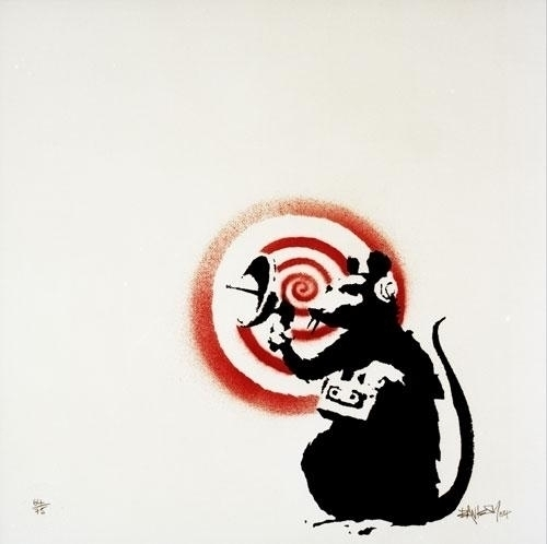 Banksy, 'Radar Rat', 2004, Puccio Fine Art