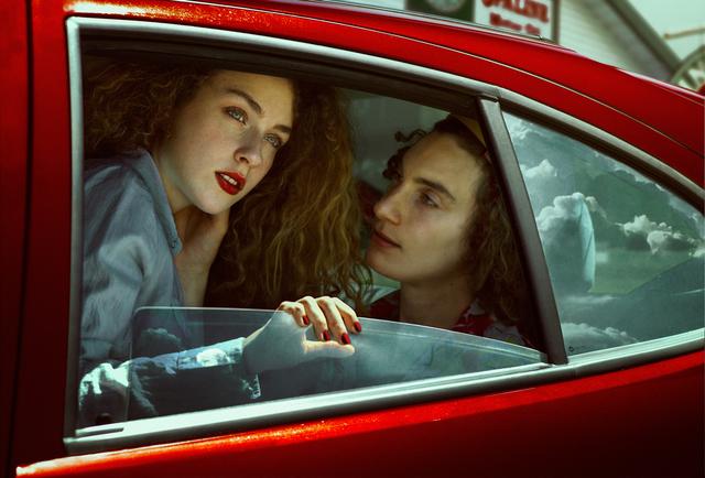 , 'Carwash,' 2015, Fifty Dots