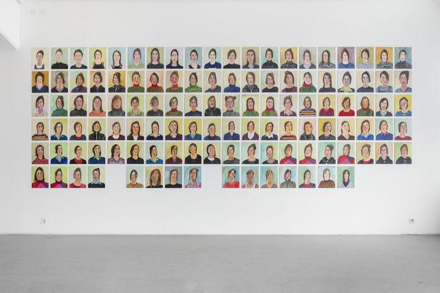 , 'Självporträtt / Self portraits,' 1998-2007, Andréhn-Schiptjenko