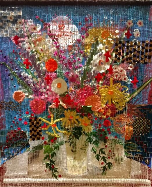 Susan Klebanoff, 'Blue Floral', Zenith Gallery