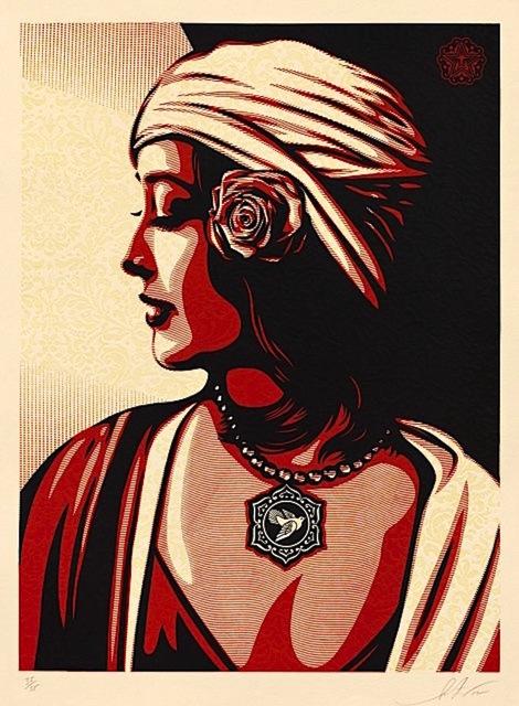 Shepard Fairey (OBEY), 'Obey Harmony Relief', 2012, Gregg Shienbaum Fine Art