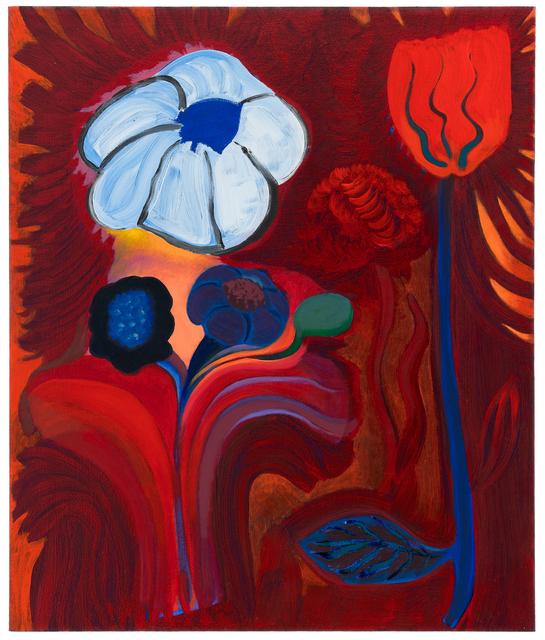 , 'Fire and Flower,' 2018, Projet Pangée