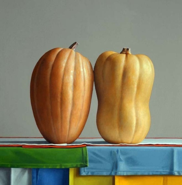 , '2 Members of the Cucurbita Family,' 2010, Clark Gallery