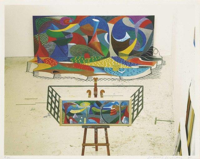 David Hockney, 'The Studio March 28th 1995', 1995, Christie's