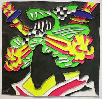 , 'Black Oiran,' 2015, Deborah Colton Gallery