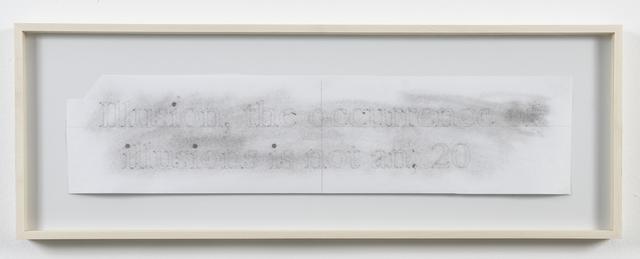, 'Spark Drawing (Illusion),' 2006, Galerie Nordenhake