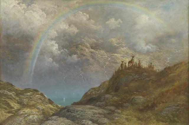 , 'Souvenir de Loch Carron, Ecosse,' 1880, Daniel Katz Gallery