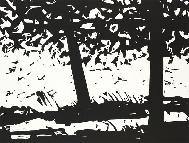 Alex Katz, 'Maine Woods 1', 2013, Swann Auction Galleries
