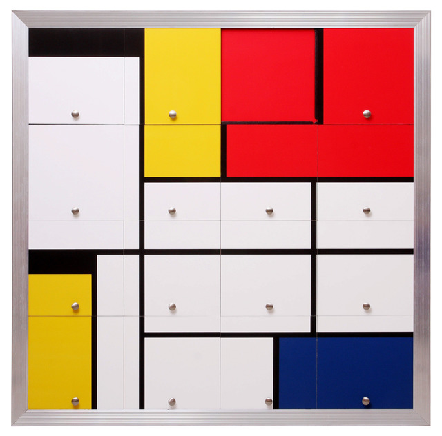 , 'Homenagem a Mondrian I (Homage to Mondrian I),' 2010, Silvia Cintra + Box 4