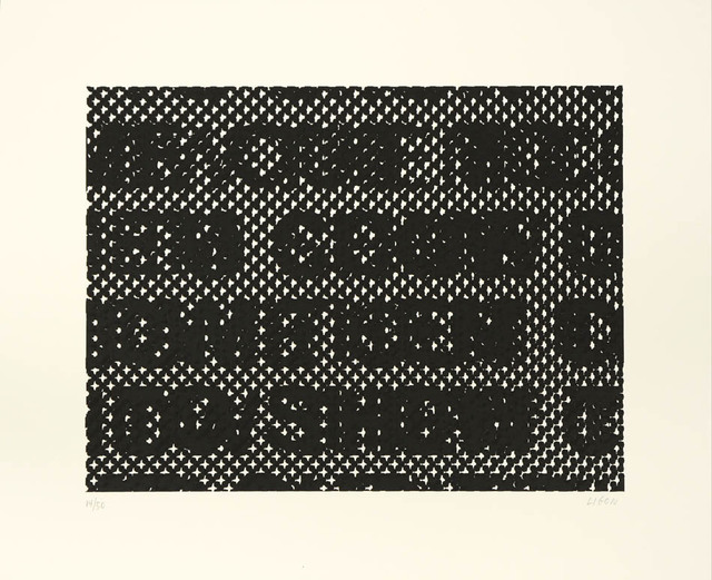 Glenn Ligon, 'Detail', 2014, Shapero Modern