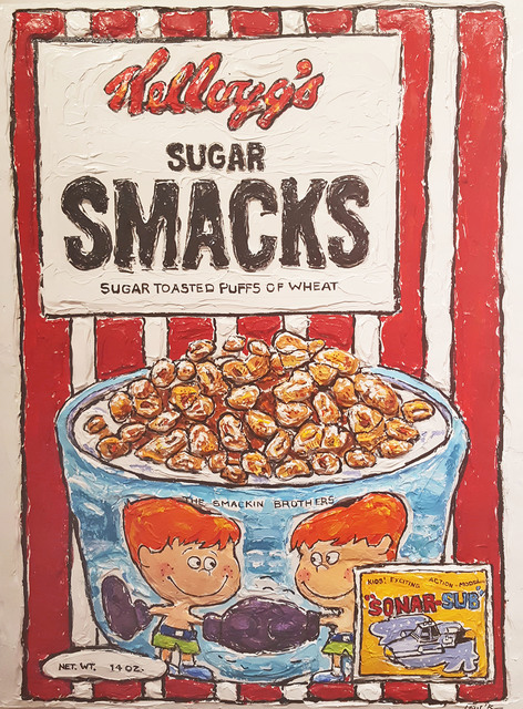 , 'Sugar Smacks and the Smackin' Brothers,' 2016, Madelyn Jordon Fine Art