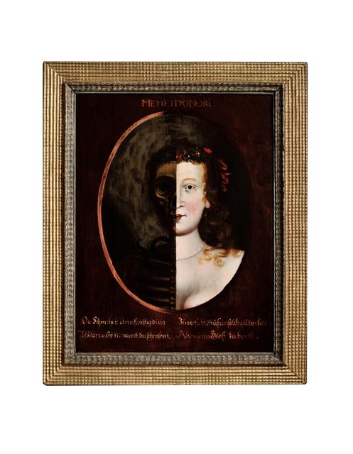 , 'Memento Mori Painting,' Nuremberg-ca 1650, Kunstkammer Georg Laue