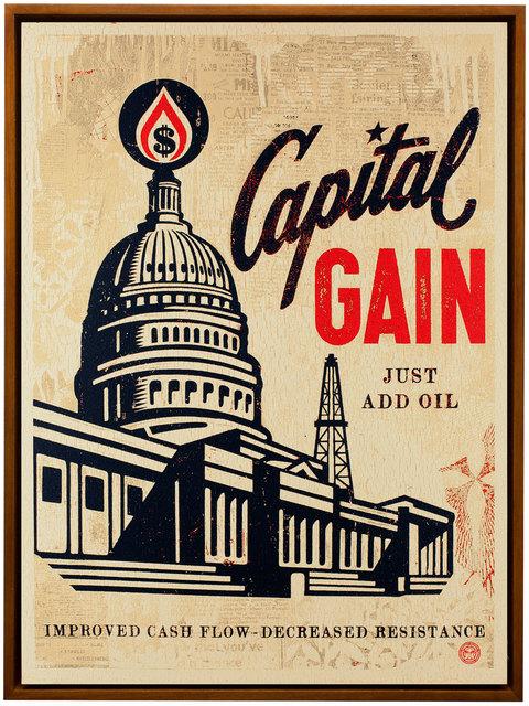 , 'Capital Gain,' 2016, Black Book Gallery