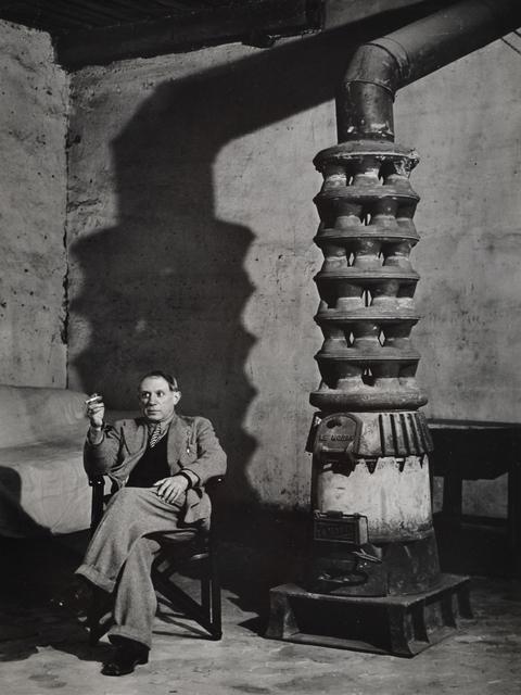 Brassaï, 'Picasso dans sure Alterier', 1939, Scheinbaum & Russek Ltd.