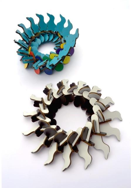 , 'Doxie Bracelet (Blue multi color) or (red multi color),' 2017, Ornamentum