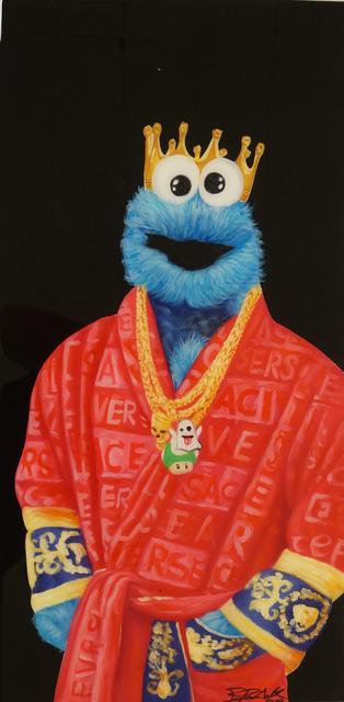 , 'Versace Cookie Monster,' 2018, Graffik Gallery / Banksy Editions