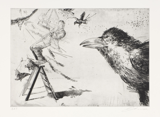 Diane Victor, 'The Swing Of The Pendulum', 2008, Print, Drypoint, David Krut Projects