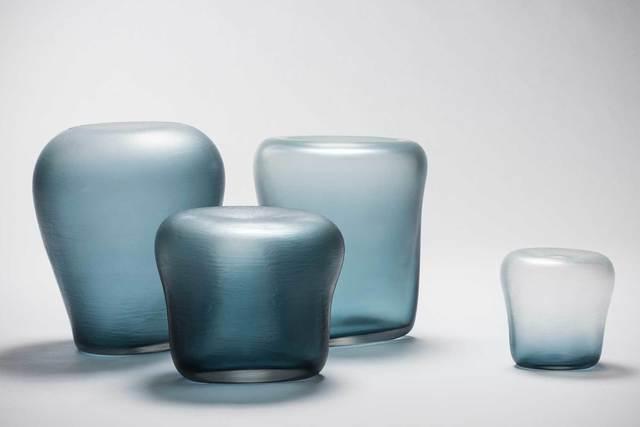 , 'Canneto Laguna - Oceano glass vases ,' 2016, Casati Gallery