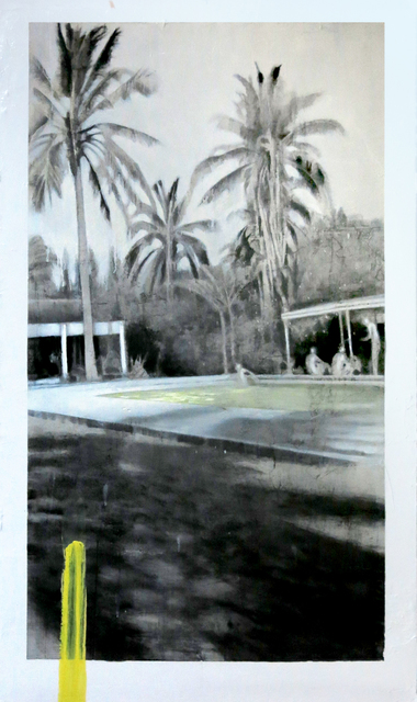 , 'Palm Trees with Pool,' 2017, LAUNCH LA
