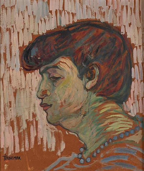 Axel Törneman, 'Woman in Profile', ca. 1910, Galleri Magnus Karlsson