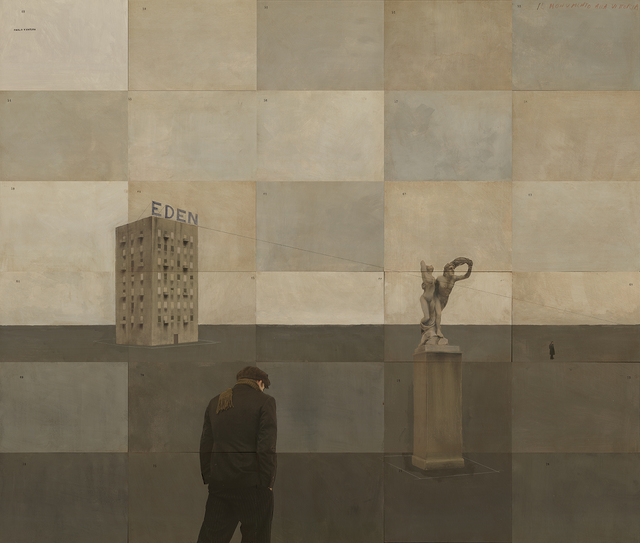, 'Piazza Monumento,' 2015, Weinstein Gallery - Minneapolis
