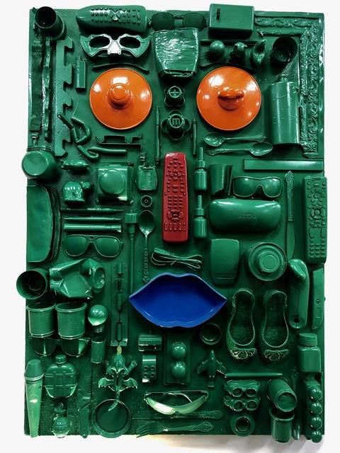 , 'Green Face,' 2019, design art concepts