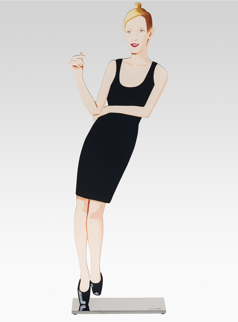 Alex Katz, 'Black Dress (Oona)', 2018, Der-Horng Art Gallery