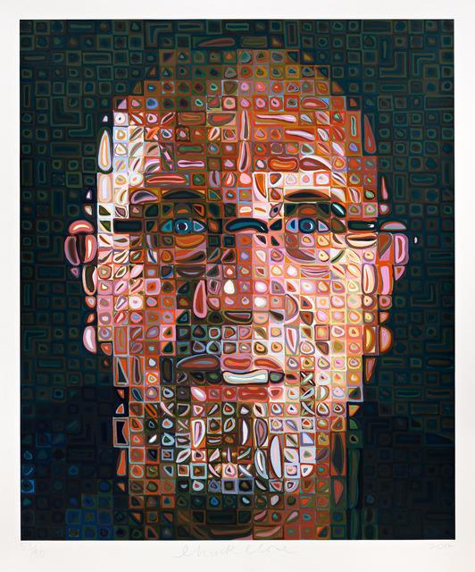 Chuck Close, 'Self-Portrait Screenprint 2012,' 2012, Pace Prints