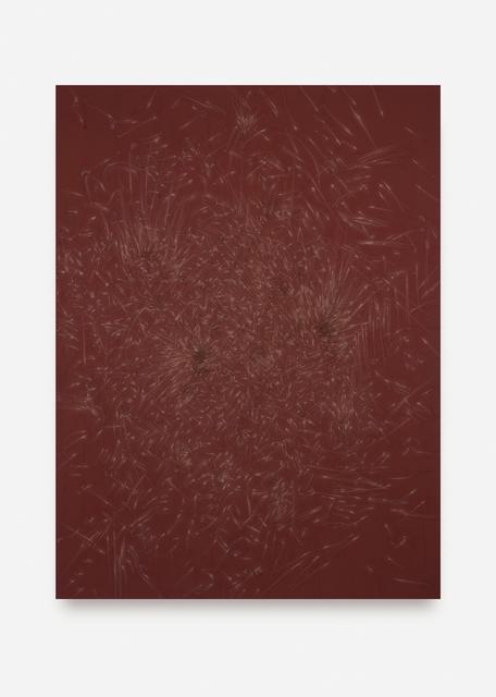 , 'MONOCHROME A (Reibfläche),' 2017, NINO MIER GALLERY
