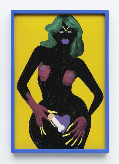 , 'Obama Lady #9,' 2012, Diablo Rosso