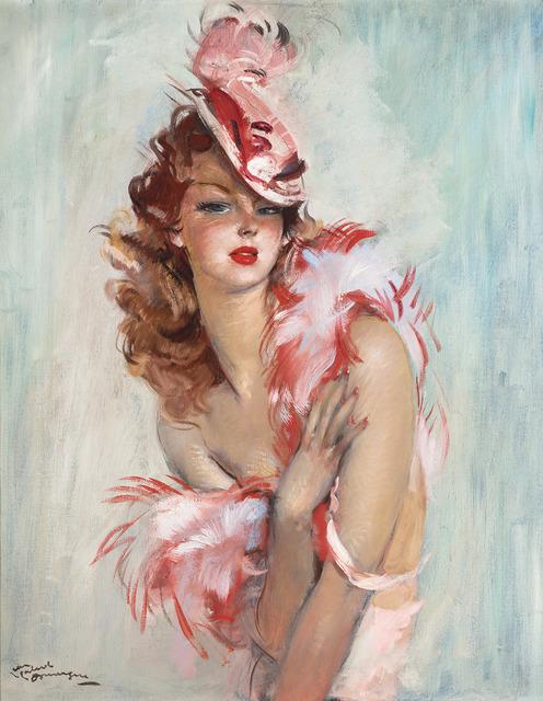 Jean Gabriel Domergue Nadine De Rothschild 20th Century Artsy