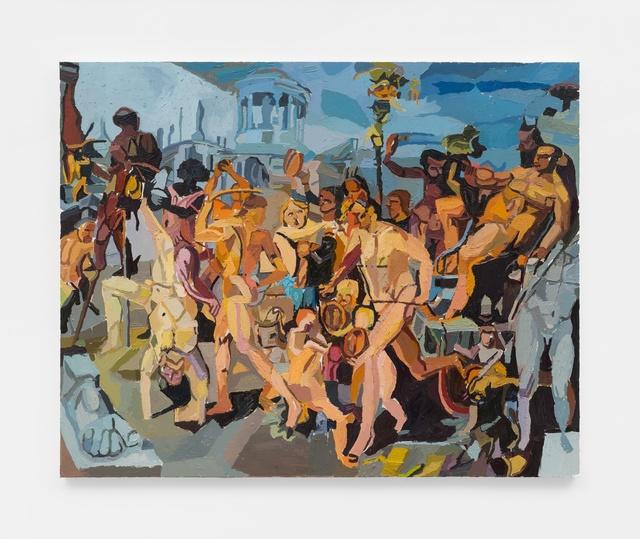 , 'The Triumphal Procession of Bacchus,' 2019, M+B