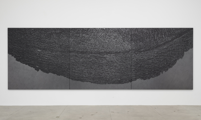 , 'Pelle di grafite - palpebra (Skin of Graphite - Eyelid),' 2012, Marian Goodman Gallery