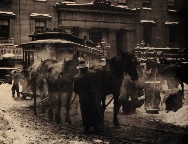 Alfred Stieglitz, 'The Terminal', 1892 (Printed 1911), Peter Fetterman Gallery